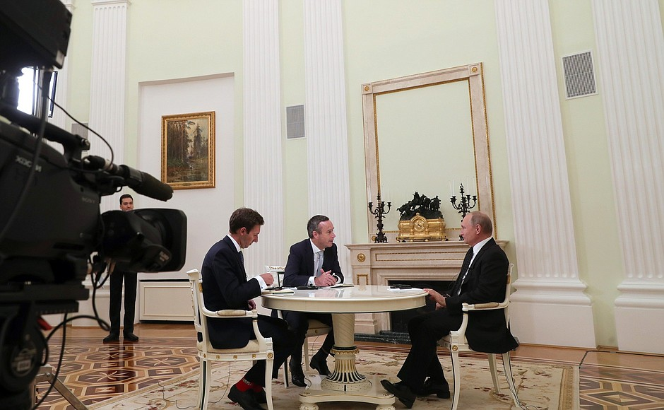 Vladimir Putin Interview mit The Financial Times